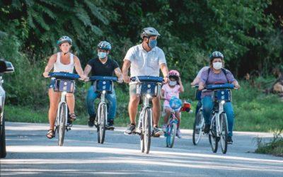 Bike Event at Upland Park